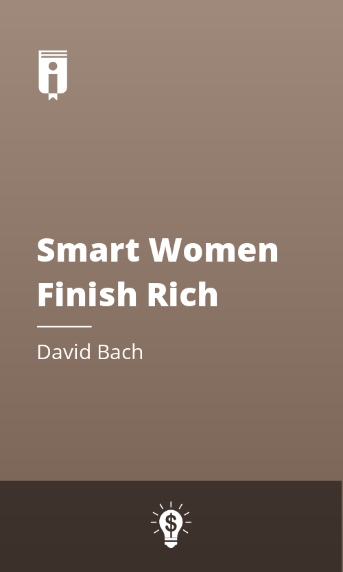 """Book Cover for """"Smart Women Finish Rich"""""""