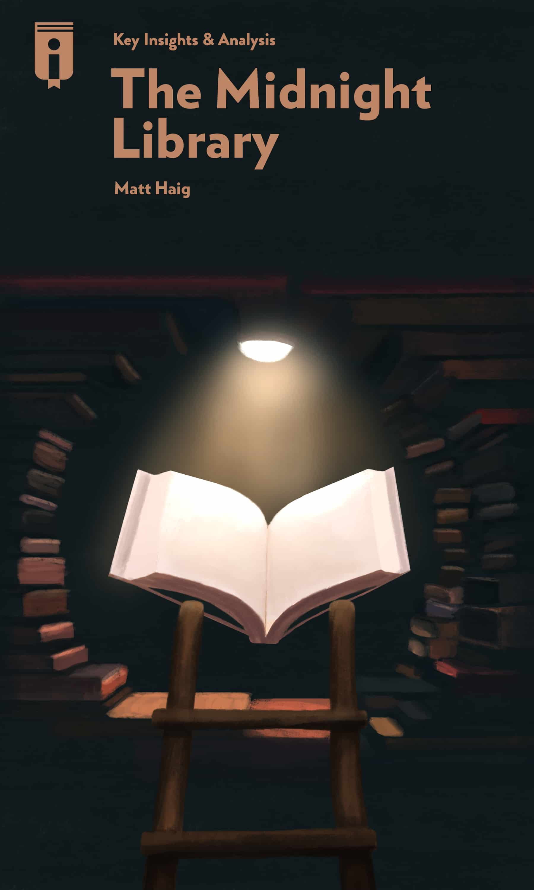 """Book Cover for """"The Midnight Library"""""""