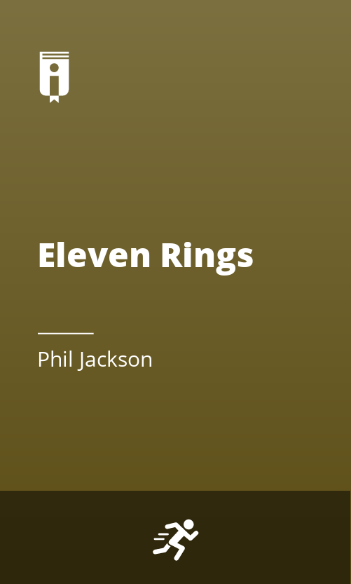 """Book Cover for """"Eleven Rings"""""""