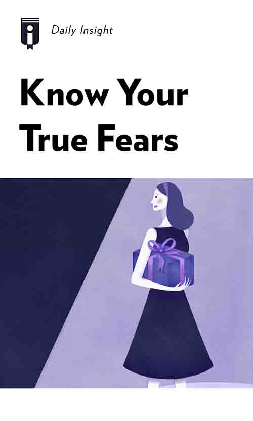 "Book Cover for ""Know Your True Fears"""