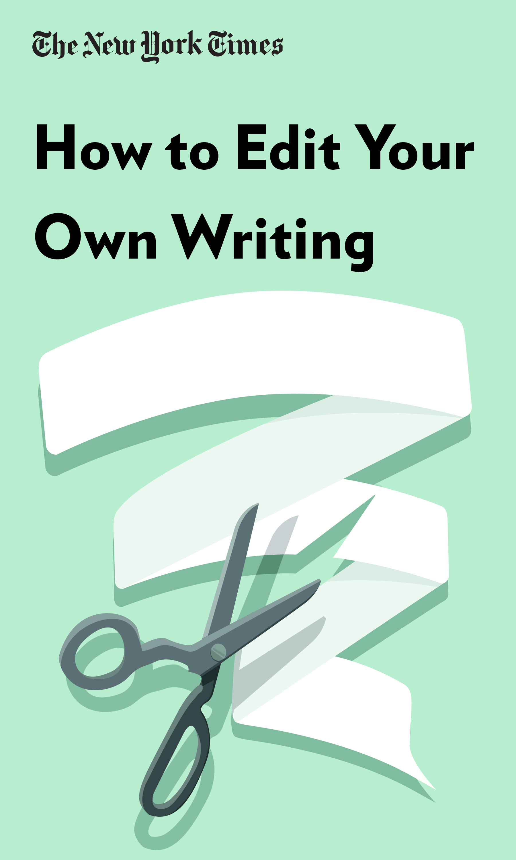 """Book Cover for """"How to Edit Your Own Writing"""""""