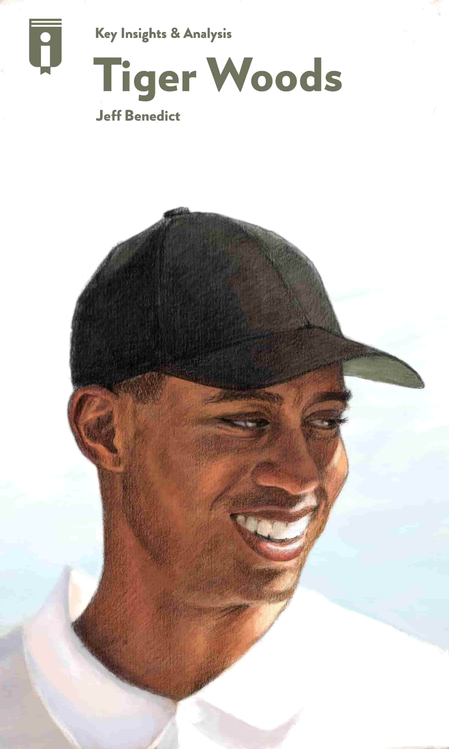 "Book Cover for ""Tiger Woods"""