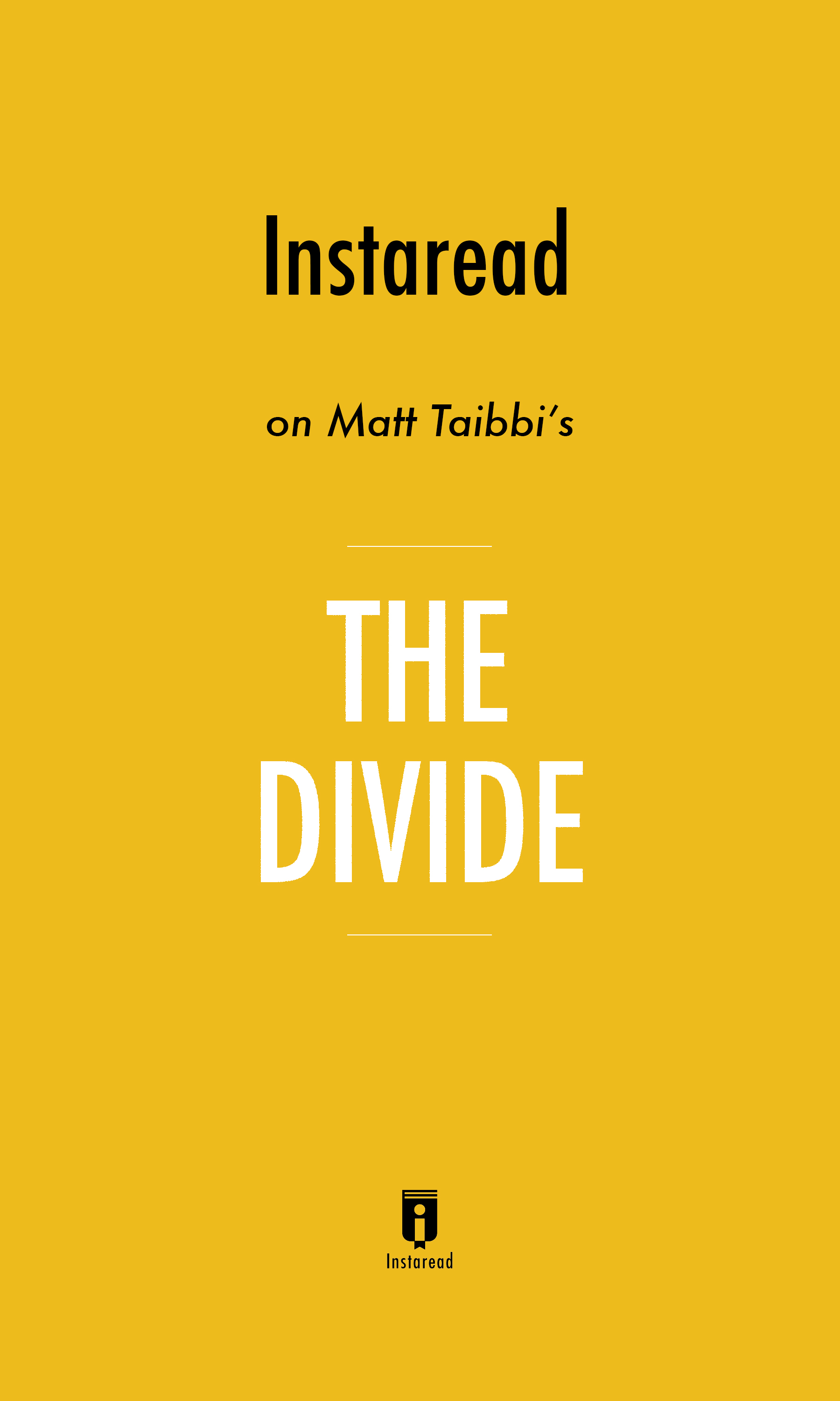 """Book Cover for """"The Divide"""""""