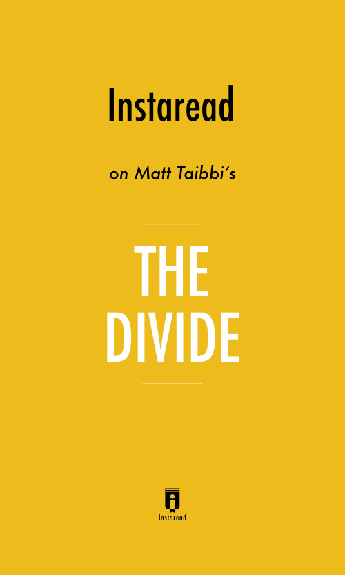 "Book Cover for ""The Divide"""