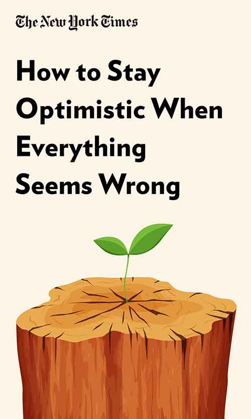 "Book Cover for ""How to Stay Optimistic When Everything Seems Wrong"""