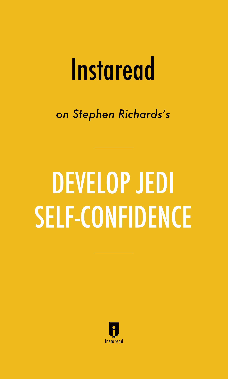 """Book Cover for """"Develop Jedi Self-Confidence"""""""