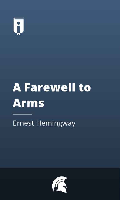 """Book Cover for """"A Farewell to Arms"""""""