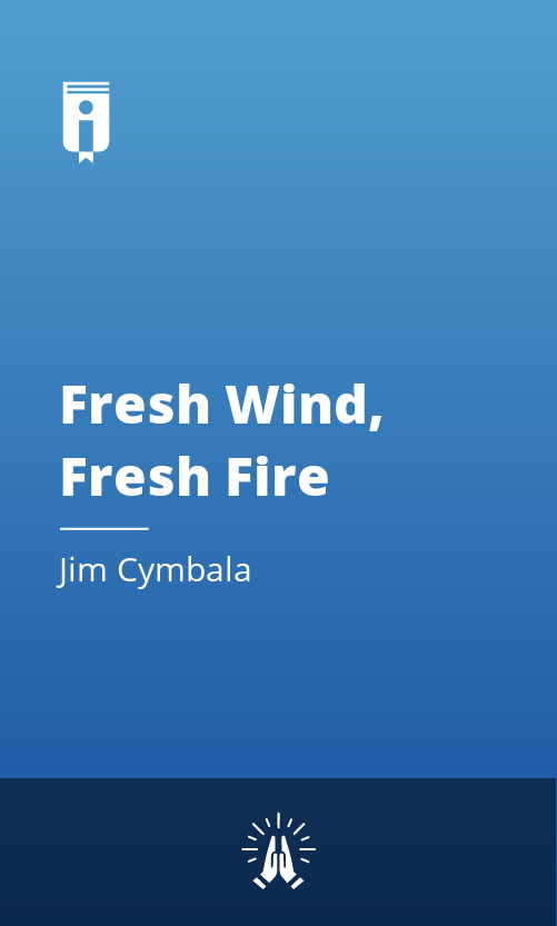 """Book Cover for """"Fresh Wind, Fresh Fire"""""""