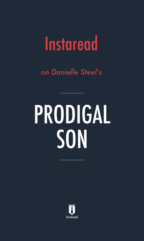 "Book Cover for ""Prodigal Son"""
