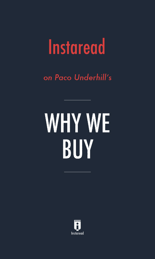 "Book Cover for ""Why We Buy"""