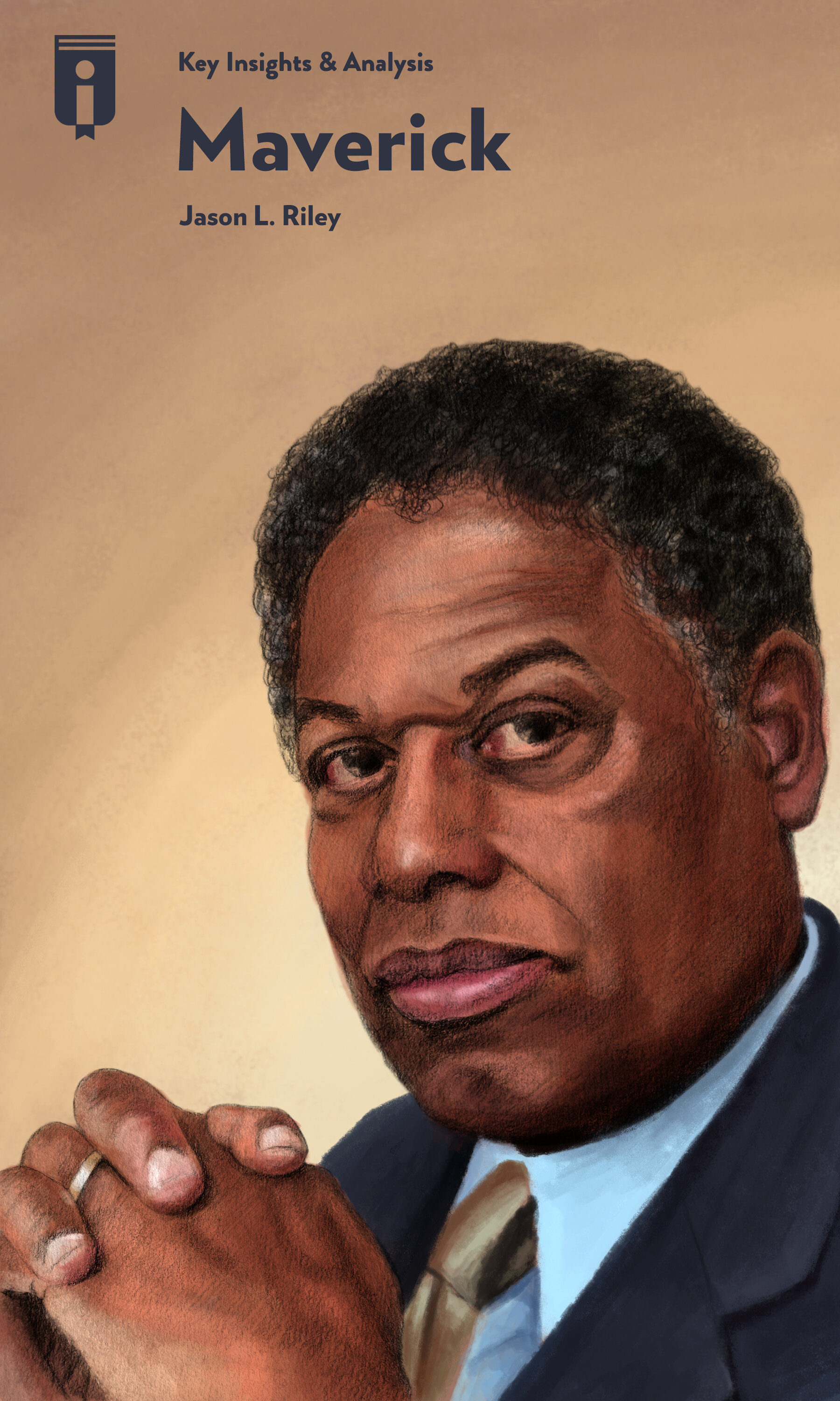 """Book Cover for """"Maverick: A Biography of Thomas Sowell"""""""