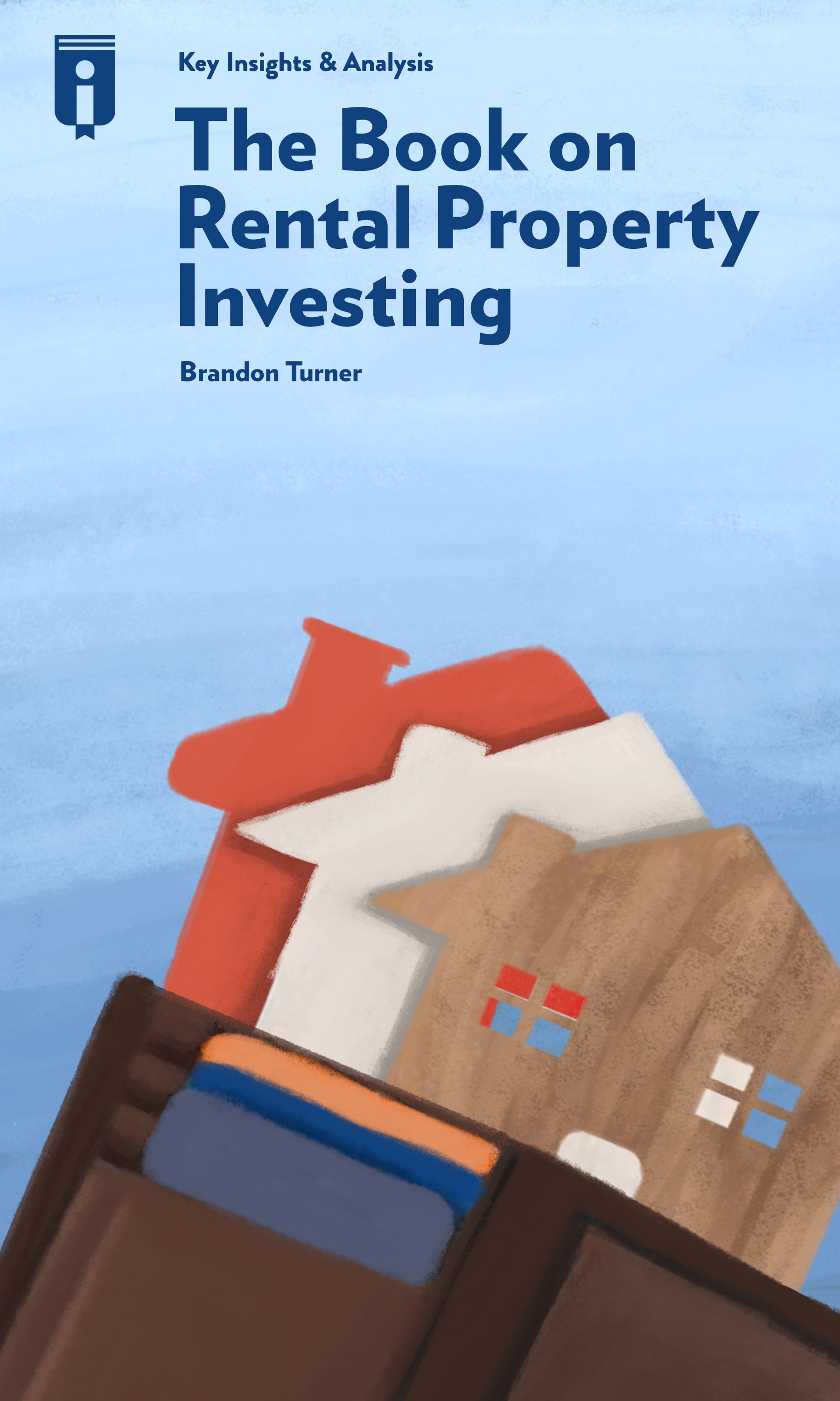 """Book Cover for """"The Book on Rental Property Investing"""""""