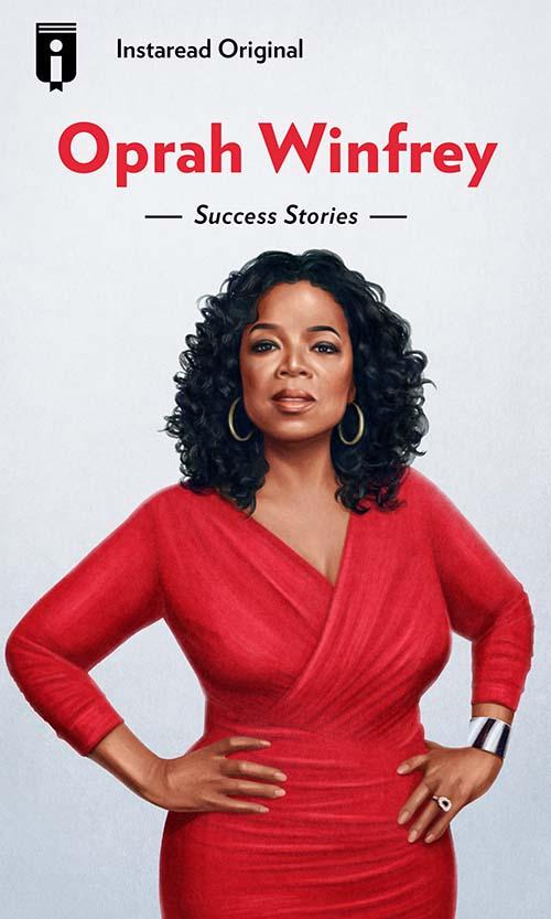 "Book Cover for ""Oprah Winfrey"""