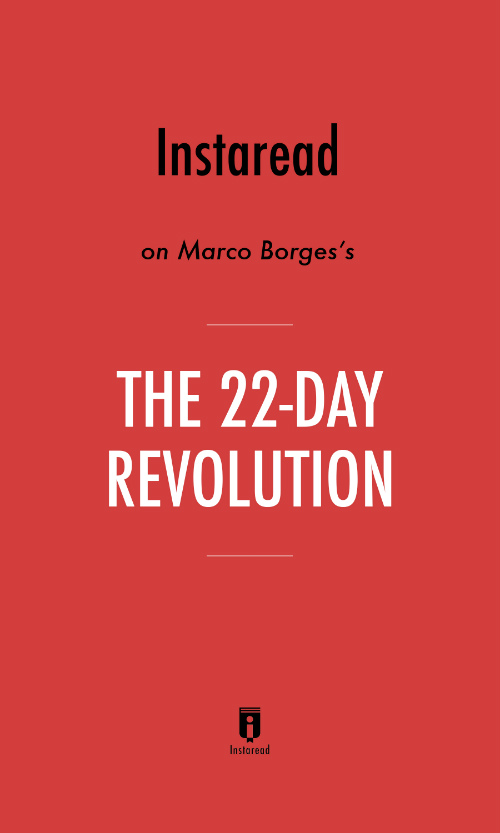 "Book Cover for ""The 22-Day Revolution"""