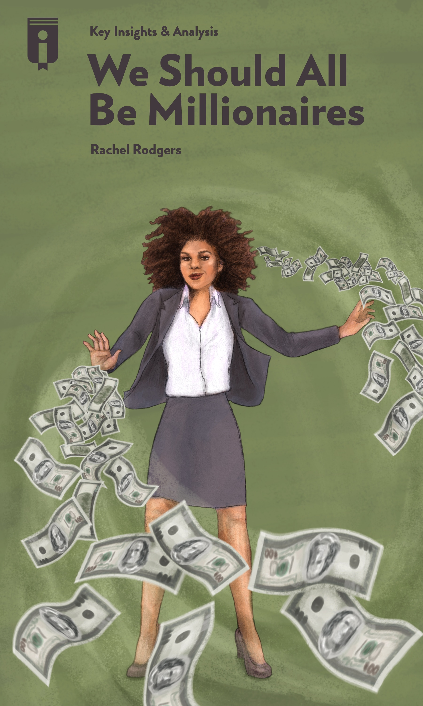 """Book Cover for """"We Should All Be Millionaires"""""""