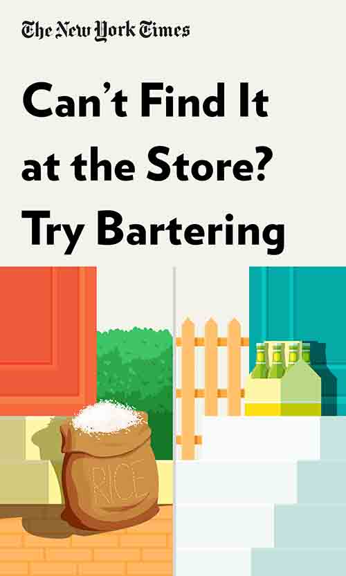 "Book Cover for ""Can't Find It at the Store? Try Bartering"""