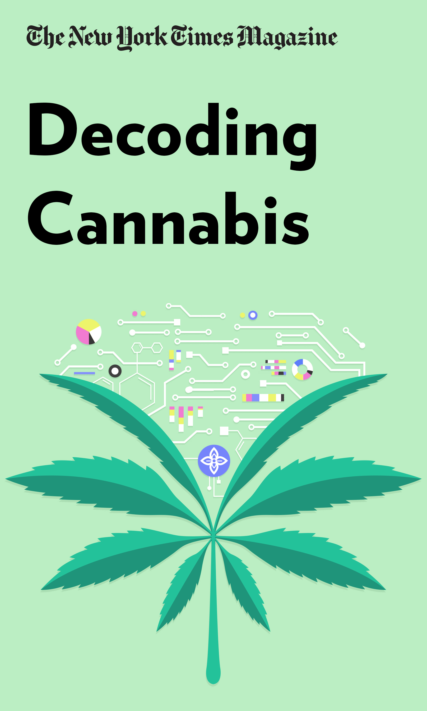 """Book Cover for """"Decoding Cannabis"""""""