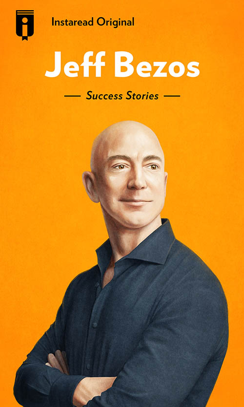 "Book Cover for ""Jeff Bezos"""