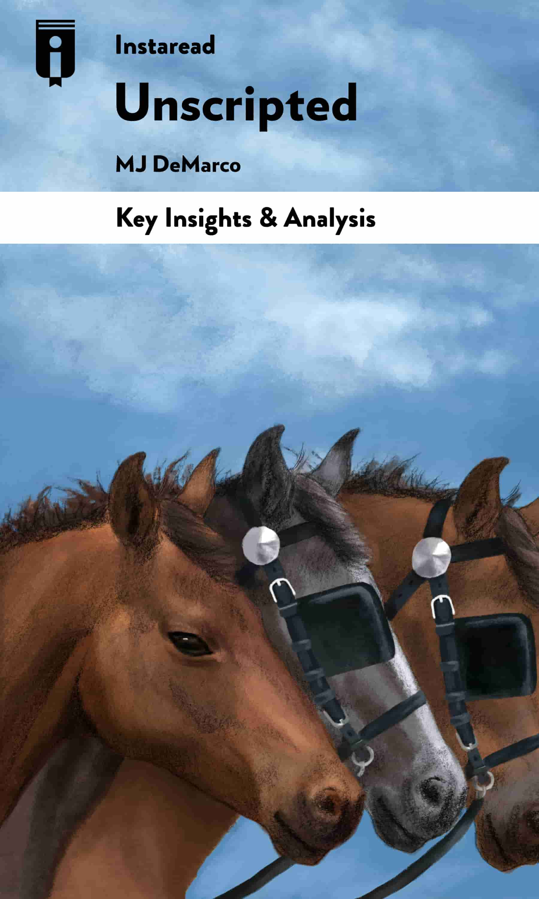"Book Cover for ""Unscripted"""