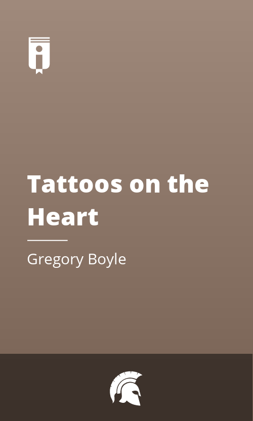 """Book Cover for """"Tattoos on the Heart"""""""