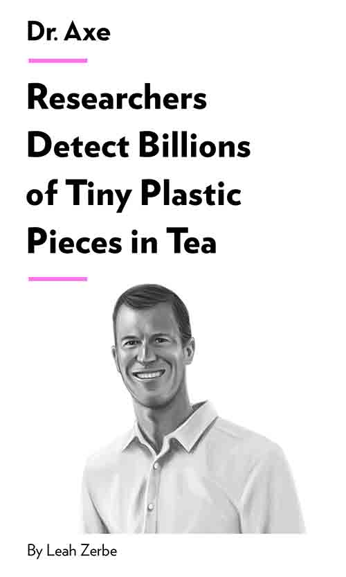 "Book Cover for ""Researchers Detect Billions of Tiny Plastic Pieces in Tea"""