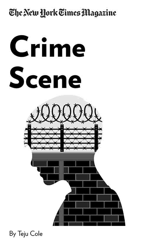 "Book Cover for ""Crime Scene"""