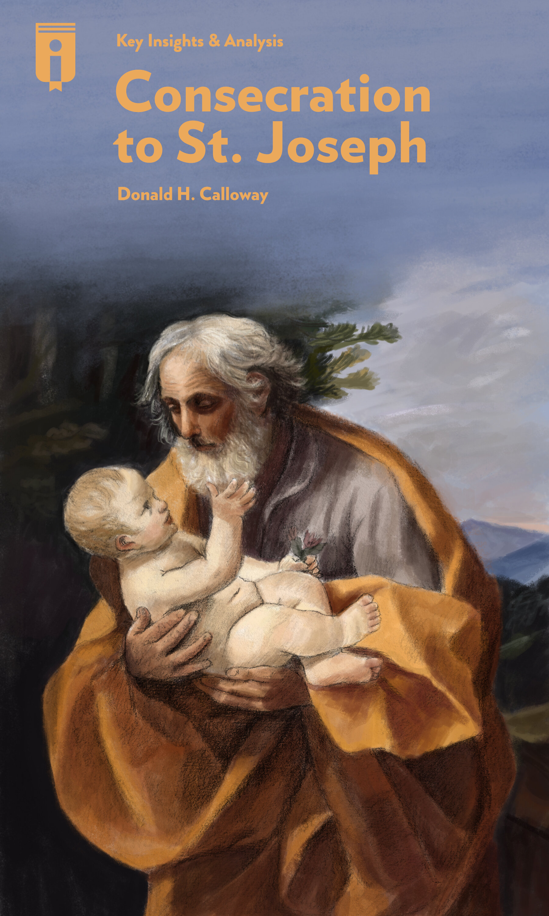 """Book Cover for """"Consecration to St. Joseph"""""""