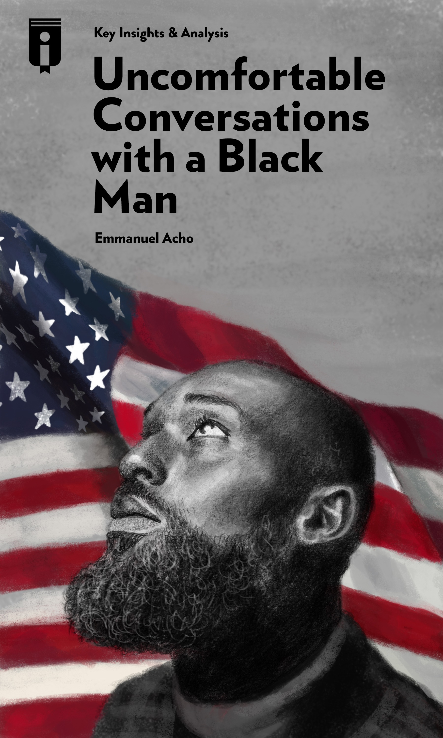 """Book Cover for """"Uncomfortable Conversations with a Black Man"""""""