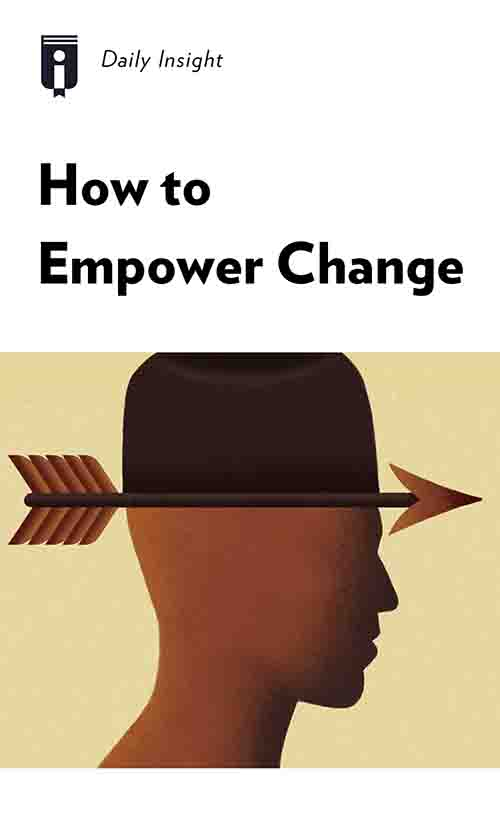 "Book Cover for ""How to Empower Change"""