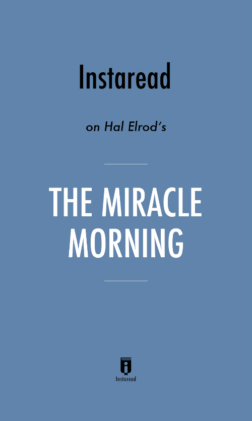 "Book Cover for ""The Miracle Morning"""