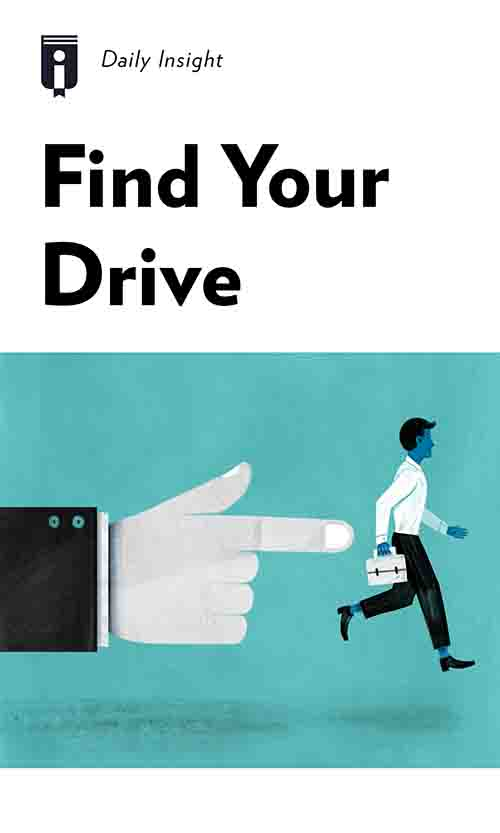 "Book Cover for ""Find Your Drive"""