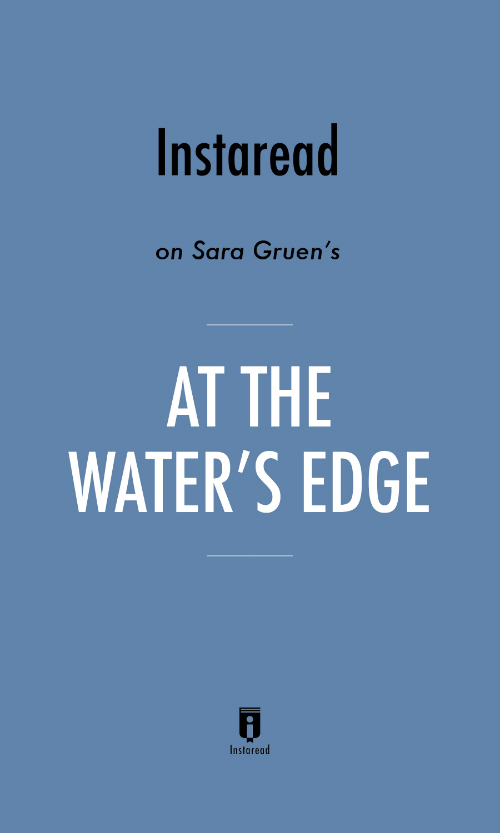 "Book Cover for ""At the Water"