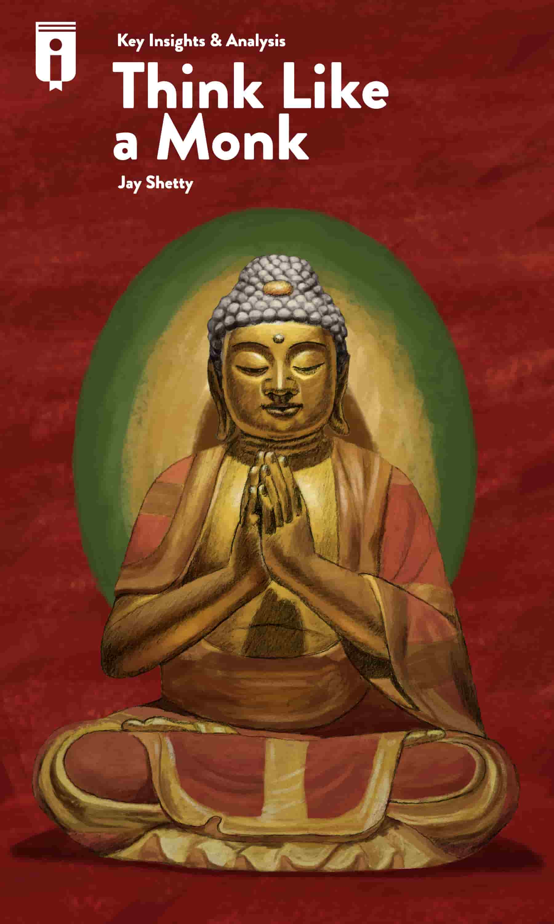 "Book Cover for ""Think Like A Monk"""
