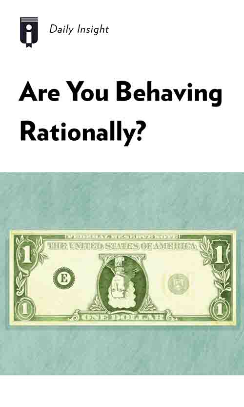 "Book Cover for ""Are You Behaving Rationally?"""