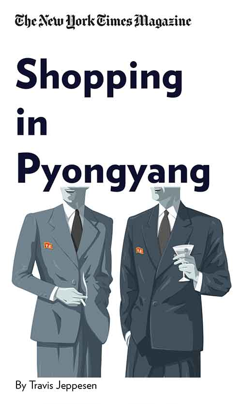 "Book Cover for ""Shopping in Pyongyang"""