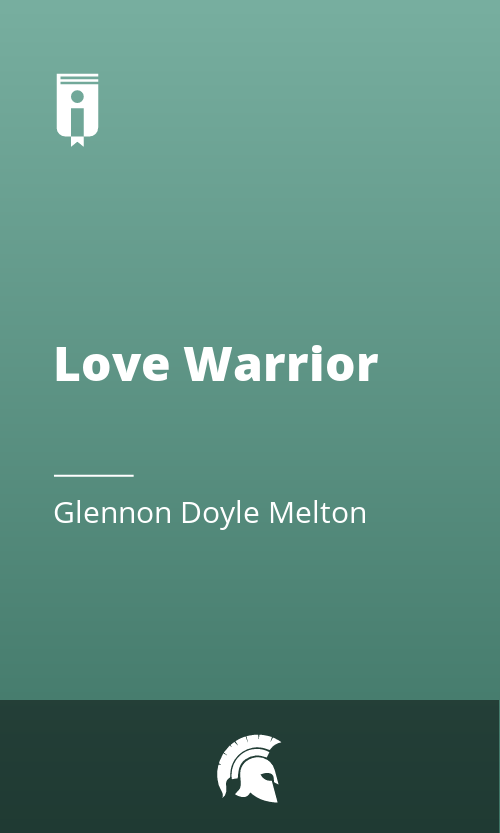 """Book Cover for """"Love Warrior"""""""
