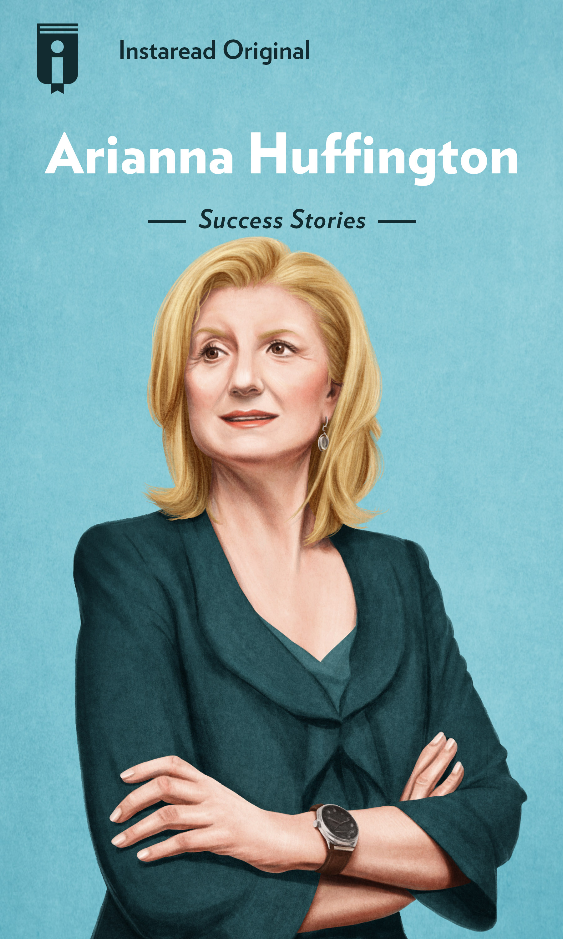 "Book Cover for ""Arianna Huffington"""