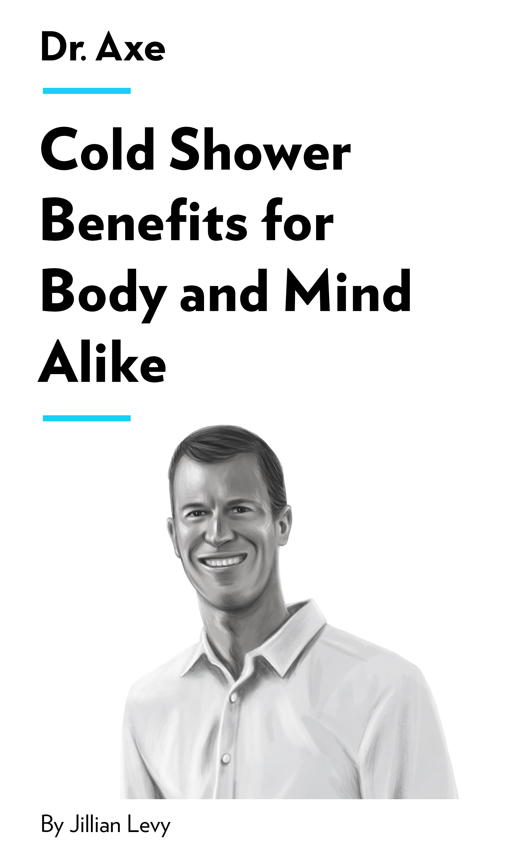 "Book Cover for ""Cold Shower Benefits for Body and Mind Alike"""