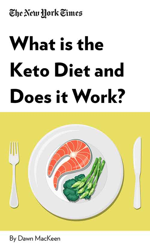 "Book Cover for ""What is the Keto Diet and Does it Work?"""