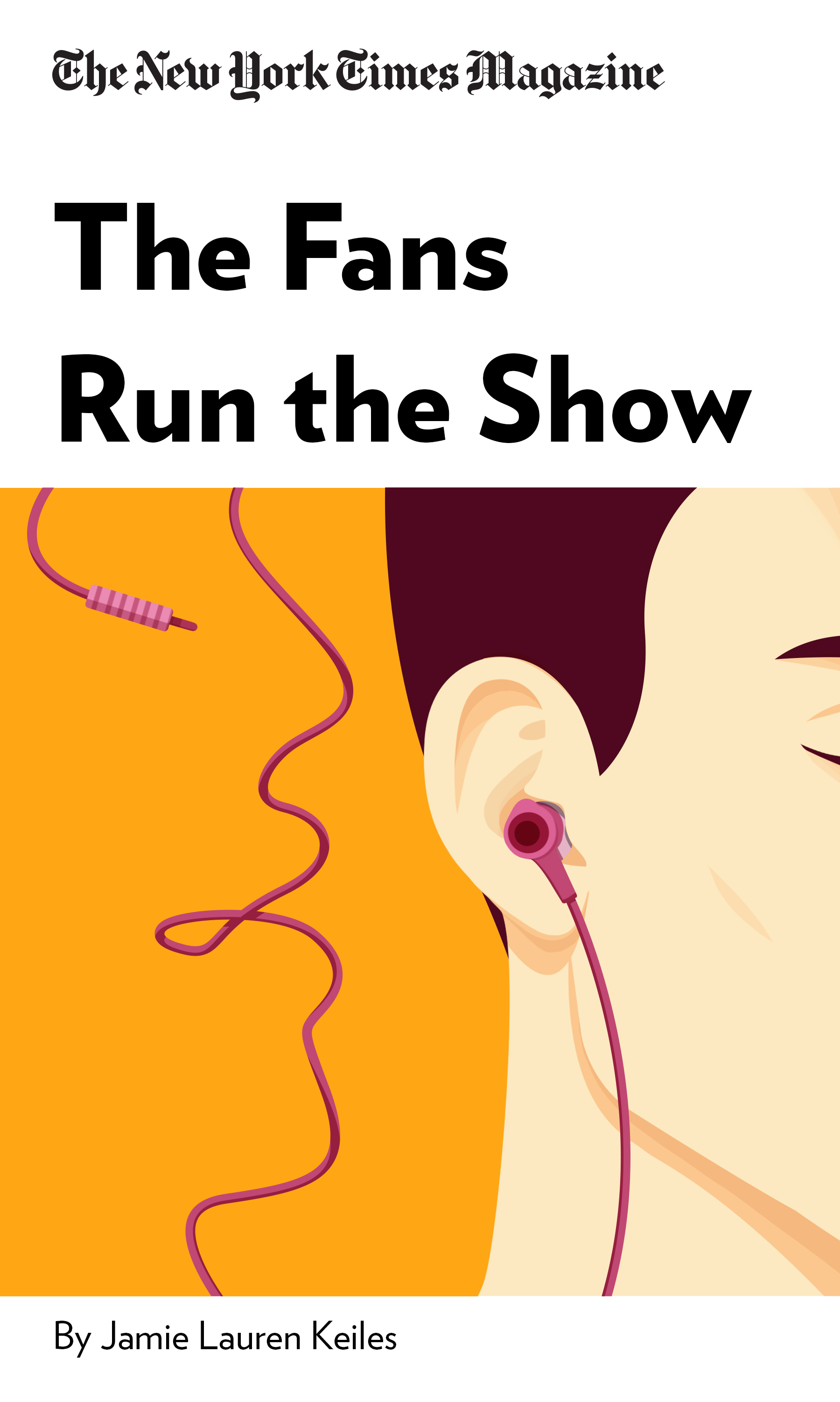 """Book Cover for """"The Fans Run the Show"""""""