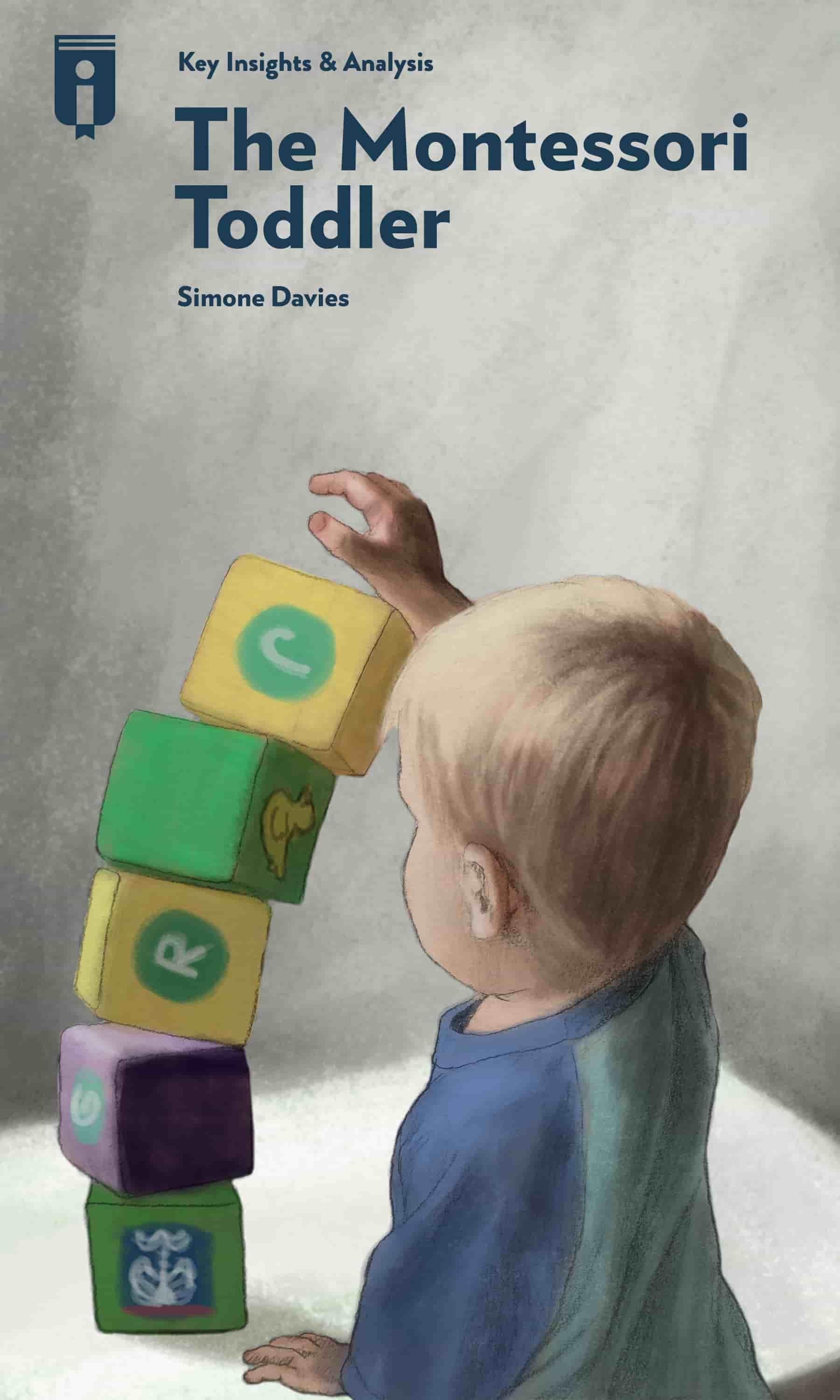 "Book Cover for ""The Montessori Toddler"""