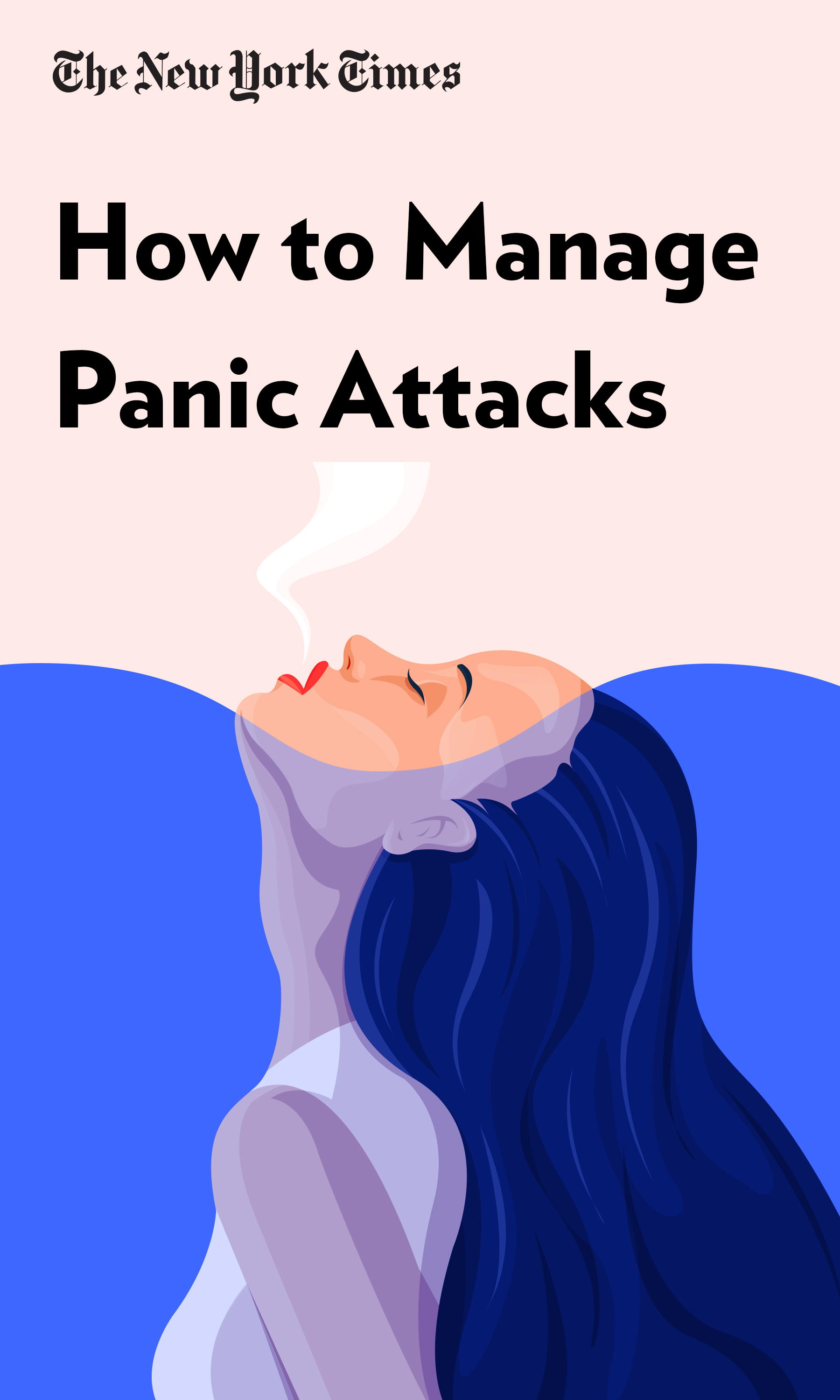 """Book Cover for """"How to Manage Panic Attacks"""""""