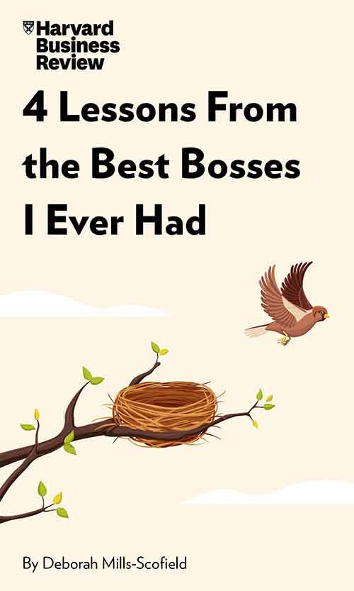 "Book Cover for ""4 Lessons From the Best Bosses I Ever Had"""