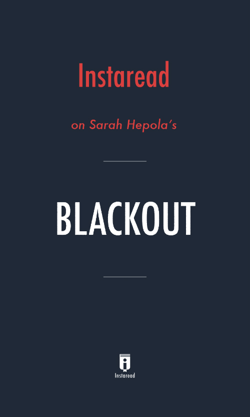 "Book Cover for ""Blackout"""