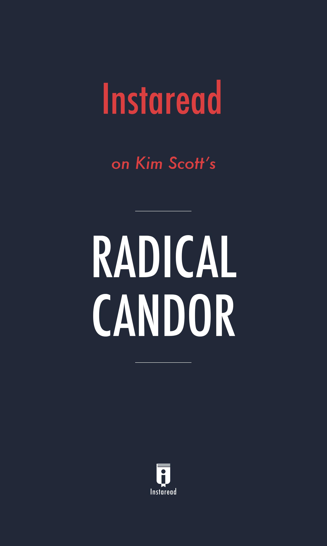 "Book Cover for ""Radical Candor"""