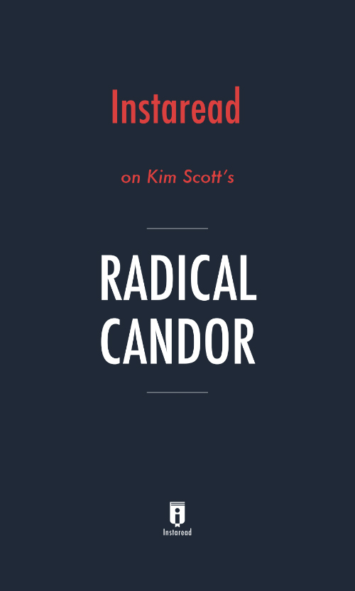 "Book Cover for ""Radical Candor"""