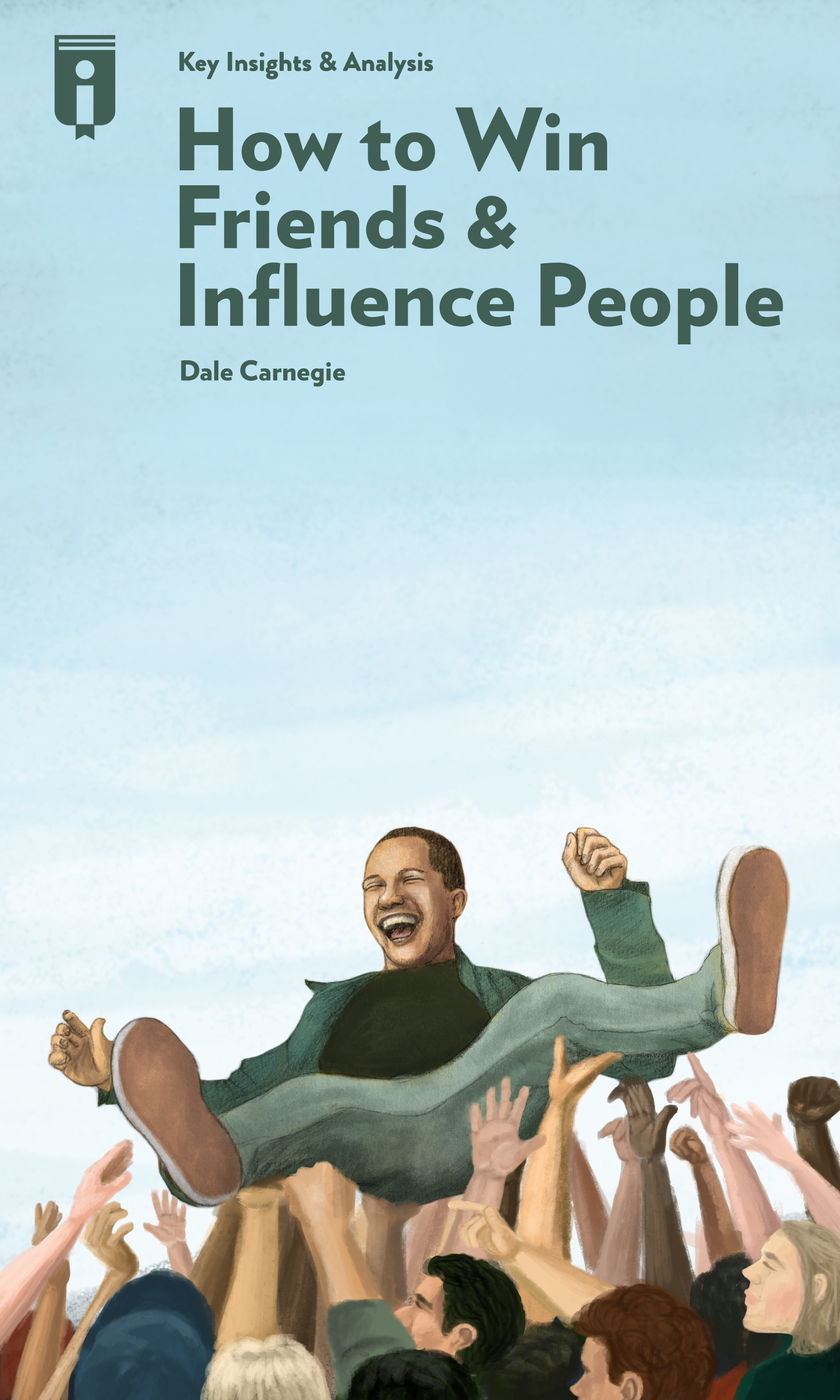 """Book Cover for """"How to Win Friends & Influence People in the Digital Age"""""""