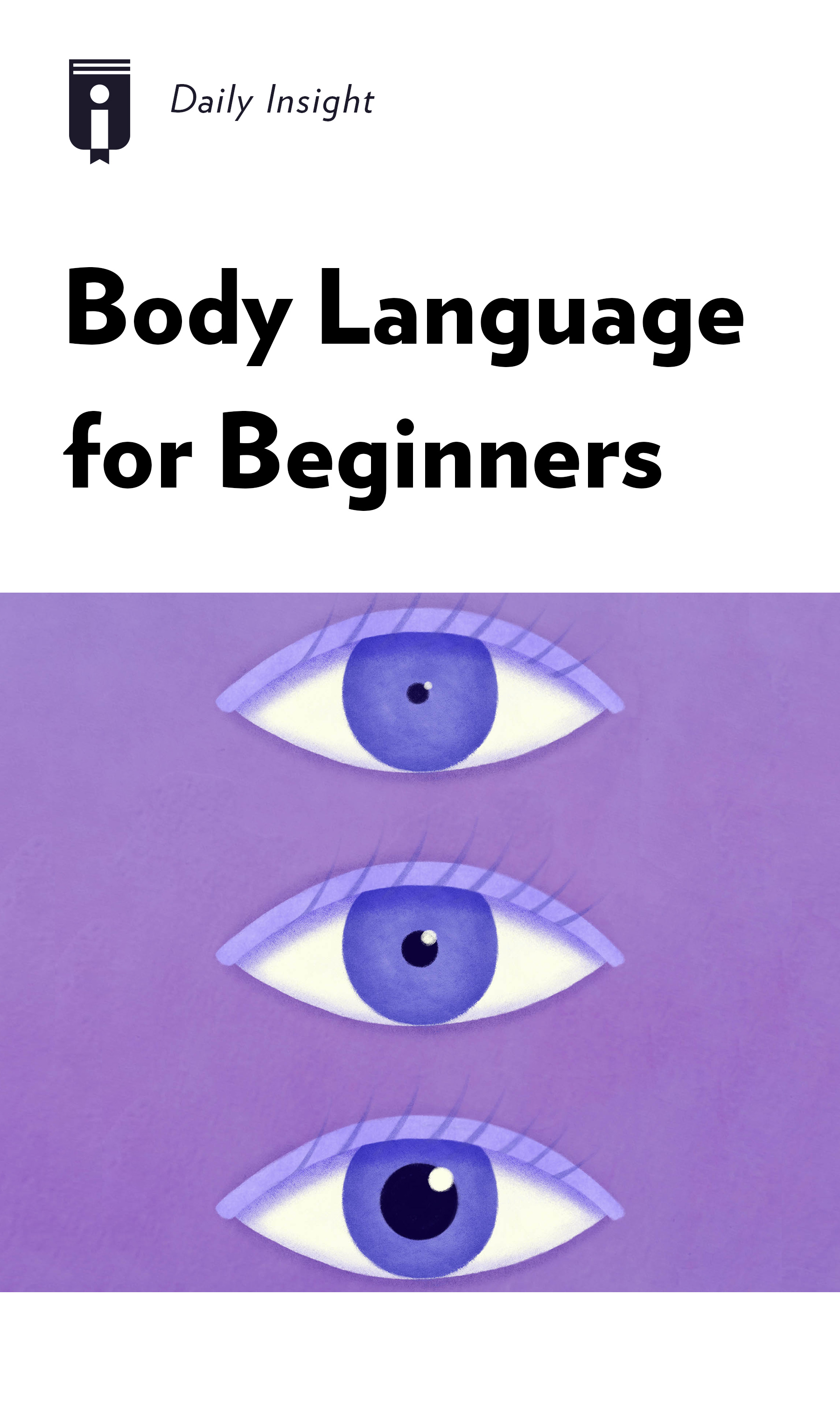 """Book Cover for """"Body Language for Beginners"""""""