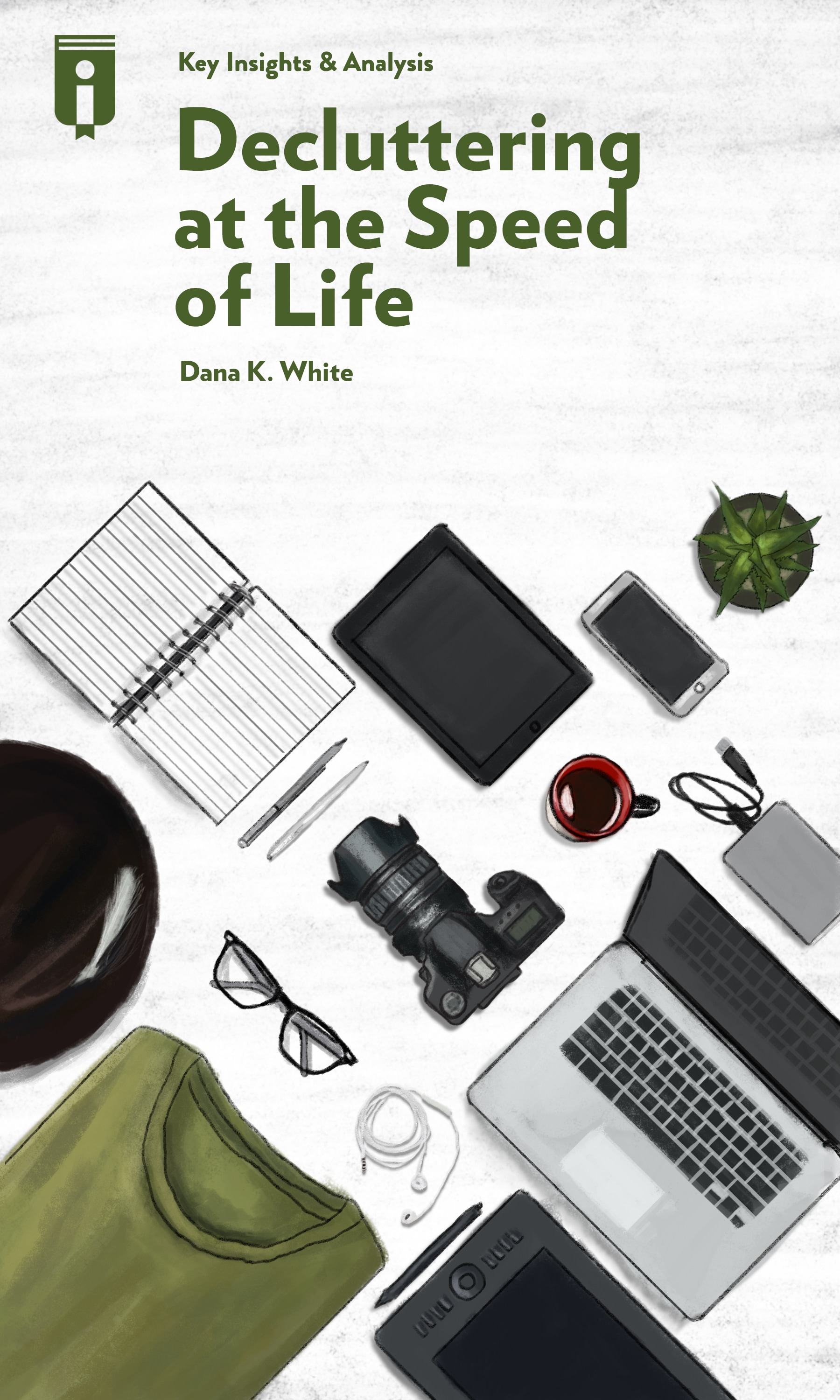 """Book Cover for """"Decluttering at the Speed of Life"""""""
