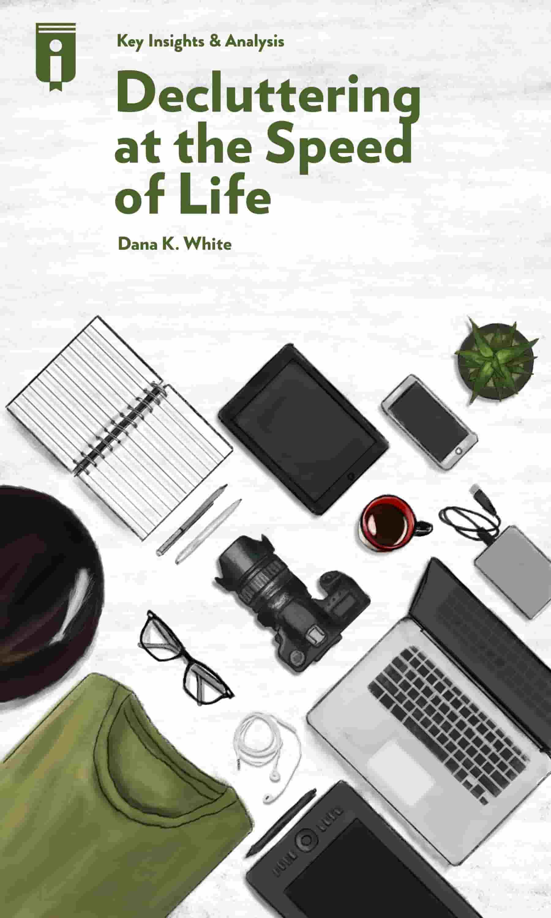 "Book Cover for ""Decluttering at the Speed of Life"""